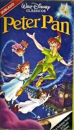 Peter Pan 1993 Brazil VHS