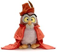 Sleeping Beauty Owl Plush