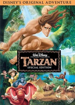 Tarzan SpecialEdition DVD