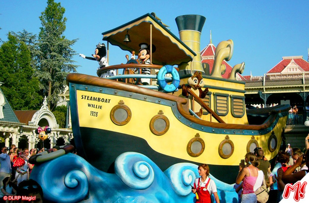 The Wonderful World Of Disney Parade