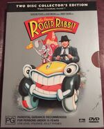 Who Framed Roger Rabbit 2003 AUS DVD Slip Cover