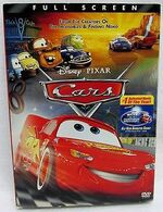 Cars DVD Fullscreen