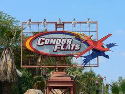 Condor Flats sign