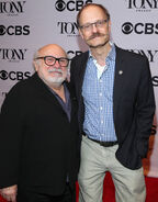 Danny DeVito David Hyde Pierce Tony Awards
