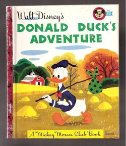 Donald ducks adventure