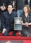 John & Joan Cusack at his Walk of Fame