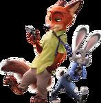 Judy Drags Nick