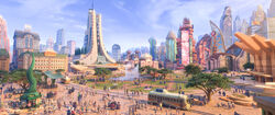 Savanna Central Zootopia