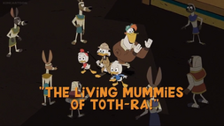 The Living Mummies of Toth-Ra