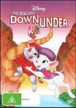 The Rescuers Down Under 2012 AUS DVD