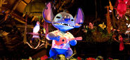 Tiki Room Stitch Figure