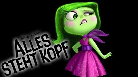 ALLES STEHT KOPF - Bonus Clip Designing Disgust Disney HD