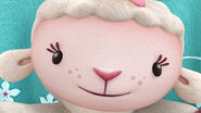 Close up of lambie