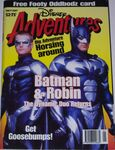 Disney adventures magazine australian cover july 1997 batman robin