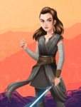 FOD - Jedi Rey promotional artwork