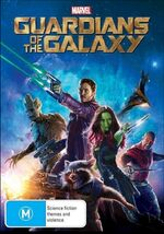 Guardians of the Galaxy 2014 AUS DVD