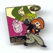 Kim possible disney pin