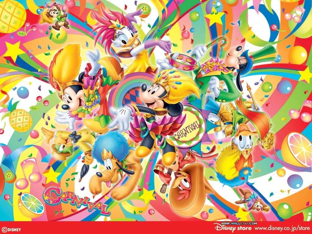 image mickey mouse and friends wallpaper disney 6603899 1024 768