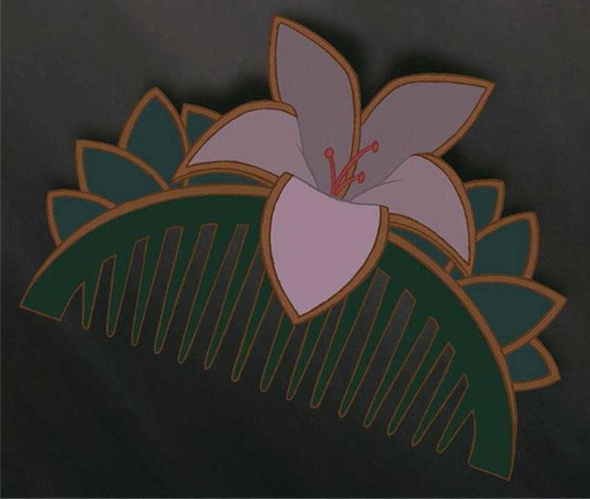 mulans hair piece disney wiki fandom powered by wikia