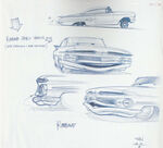 Pixar Cars Characters Sketches 05 Ramone