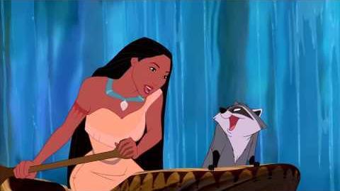 Pocahontas Om De Kromming Van De Stroom Disney NL
