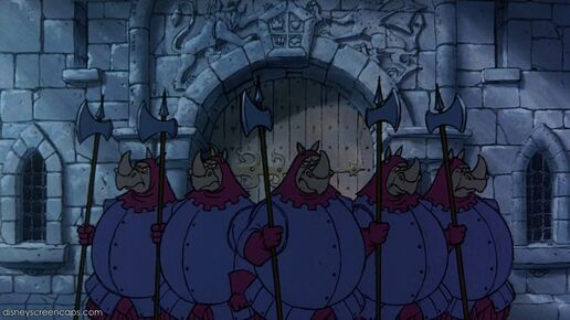 Rhino Guards Disney Wiki Fandom Powered By Wikia
