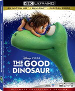 The Good Dinosaur 4KUHD Blu-ray