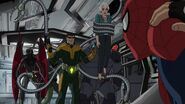 Ultimate Spider-Man - 4x25 - Graduation Day, Part One - Vulture, Doc Ock, Aunt May, Rhino and Spider-Man