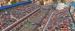 World Grand Prix starting line