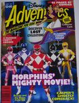 Disney Adventures Magazine Australia june 1995 power rangers
