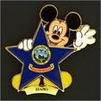 Idaho Mickey Pin