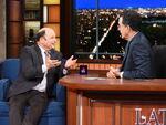 Jason Alexander visits Stephen Colbert