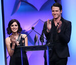 Laura Marano & Shane Harper speak at 8th Thirst Gala