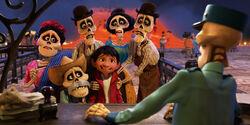 Miguel und seine Familie