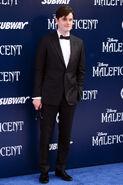 Sam Riley Maleficent premiere