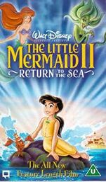 The little mermaid ii uk vhs