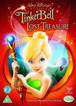 Tinker Bell and the Lost Treasure UK DVD