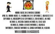 ADJL 2013 Auburn Tigers Schedule