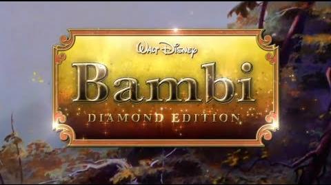 Bambi Edición Diamante (Tráiler en DVD y Blu-ray)