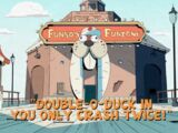 Double-O-Duck in You Only Crash Twice!