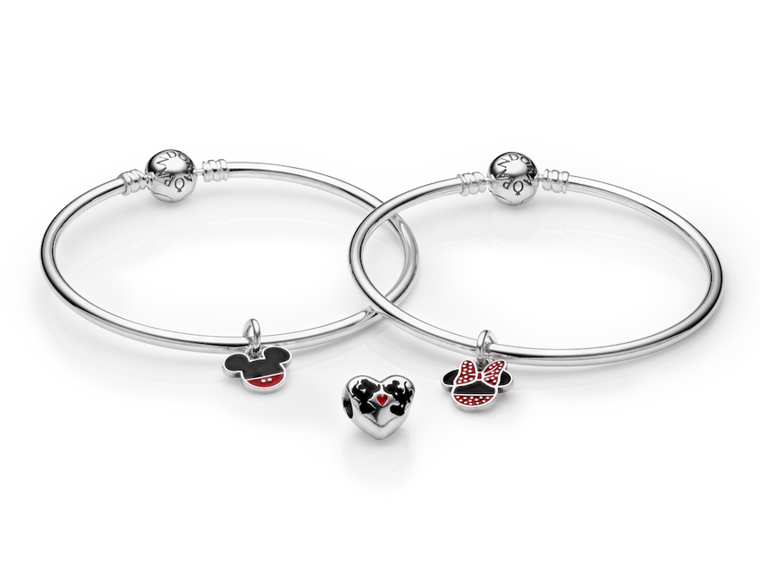 Disney Minnie And Mickey Bangles Jpg