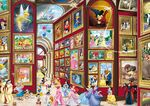 Disney characters Art Gallery puzzle