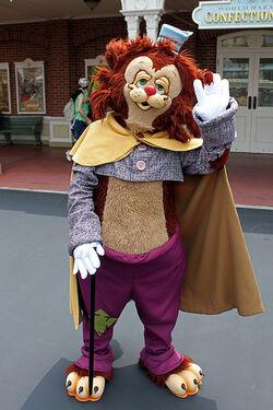 Gideon in Tokyo Disney