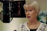 Helen Mirren behind the scenes Monsters University