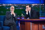Jeffrey Tambor visits Stephen Colbert