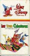 Los Tres Caballeros 1985 VHS