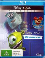 Monsters Inc 2010 AUS Blu Ray Classics