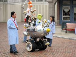Muppet Mobile Lab at Hong Kong Disneyland