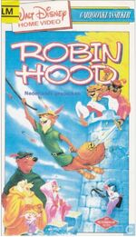Robin Hood 1980s Dutch VHS
