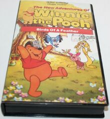 The New Adventures of Winnie the Pooh Birds Of A Feather 1988 AUS VHS